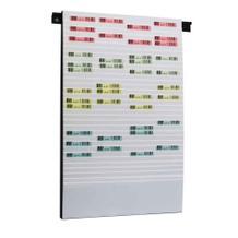 Flexiplan-Beleg-Planungstafel - für Belege DIN A5 quer / DIN A6 hoch - 500 x 795 mm