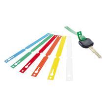Schlüsselbänder aus PVC, Format 160 x 13 mm