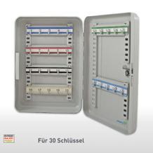 Schlüsselkassette mit Zylinderschloß - 30 Haken
