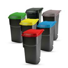 Mobiler Abfallbehälter auf Rädern