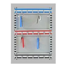 Schlüsseltafel mit großer Grundplatte - 21 Schlüsselhaken