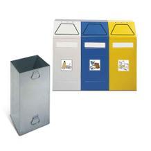 Wertstoff-Sortierbehälter und -Sammler - 3er-Set - 65 Liter Füllvolumen
