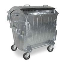 Großbehälter und Sammler - feuerverzinkt - nach EN 840 - 1100 Liter