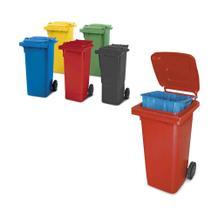 Müllbehälter und Sammler - nach EN 840 - 80 Liter - 2 Ausführungen