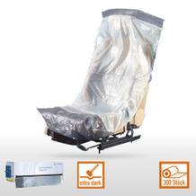 Einweg-Schutzbezug OPTIFIT® weiß/silber (VE=300 Stück)