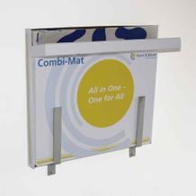 Halterung für Combi-Mat