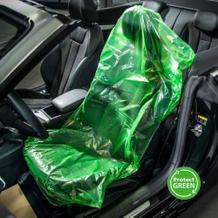 """""""Der Grüne"""" Standard Schonbezug (VE=500 Stück), mehrfach verwendbar"""