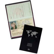 Schutzhüllen mit Abschirmfolie für Reisepässe in Schwarz und Rot