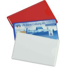 Schutzhülle für Kredit- und Scheckkarten - in drei Farben