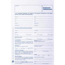 Formularsätze Fahrzeugbenutzungsvertrag / Probefahrtvereinbarung