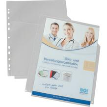 PP-Dokumentenhülle MAXI - DIN A4 - oben offen - Abheftrand