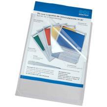 PVC-Dehnfaltentasche - DIN A4 - Halboffen