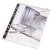 PP-Dokumententasche - CD/DVD-Tasche - DIN A4 - Abheftrand