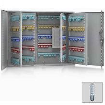 Schlüsselschrank mit Elektronikschloss - 2-türig - 200 - 1170 Schlüsselhaken
