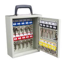 Mobiler Schlüsselschrank mit Tragegriff mit 20 - 50 Schlüsselhaken