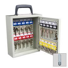 Mobiler Schlüsselschrank - Elektronikschloss - Tragegriff - 20-50 Schlüsselhaken