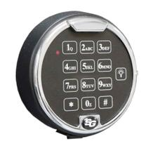 Elektronisches Zahlenschloss für Schlüsseltresore mit Sicherheitsstufen