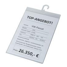Info-Preisblatthalter für DIN A4 Hochformat