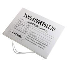 Infohalter zum Einstecken für DIN A3 Querformat