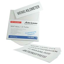 Preis- und Werbedisplay - DIN A4 - individuelle Gestaltung