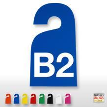 Kennzeichnungs-Anhänger (bis 2-stellig, 2-seitig)