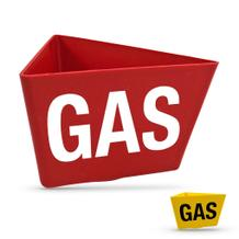 """Magnet-Kennzeichnungsträger """"GAS"""""""