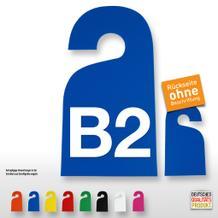 Kennzeichnungs-Anhänger (bis 2-stellig, 1-seitig)