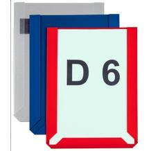 Magnet Sichttaschen im DIN A4 Hoch- und Querformat