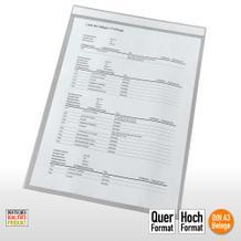 Transparente Sichthüllen mit Magnetstreifen für DIN A3 Formate