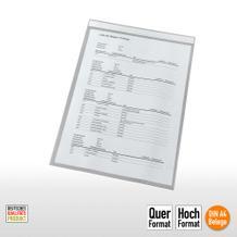Transparente Sichthüllen mit Magnetstreifen für DIN A4 Formate