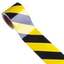 Warnmarkierungsband gelb/schwarz - für den Innenbereich