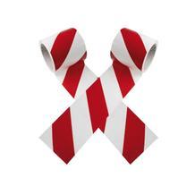 SafetyMarking Warnmarkierungsband - rot/weiß
