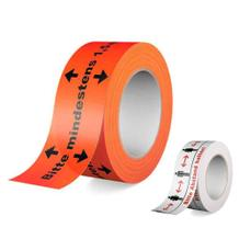 Warn-Klebeband - für Böden und Oberflächen - 2 Ausführungen