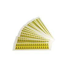 Selbstklebende Buchstaben - auf Karte - Kombipackung Buchstaben A-Z