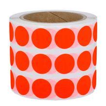 Runde Papieretiketten - Ø 30 mm - permanent klebend - 3 Zoll - 3 Farben