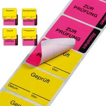 Zweiteilige Qualitätskennzeichnung - verschiedene Versionen