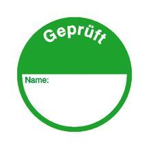 Qualitätskennzeichnungs-Etiketten - 3 Varianten