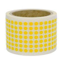 Markierungspunkte aus PVC / Vinyl Folie - Ø 6,4 mm - permanent haftend - in 7 Farben