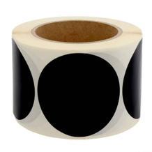 Markierungspunkte aus PVC / Vinyl Folie - Ø 75 mm - permanent haftend - in 6 Farben