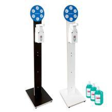 Hygiene-Tower-Set - Desinfektionsmittel-Spender und Handdesinfektionsmittel