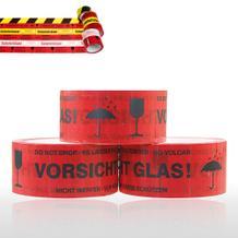 Selbstklebendes PVC-Packband - Vorsicht Glas!