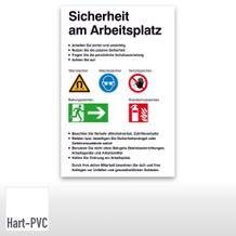 Sicherheitskennzeichnung -Sicherheit am Arbeitsplatz