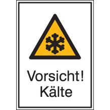 Warn-Kombischild - Vorsicht! Kälte