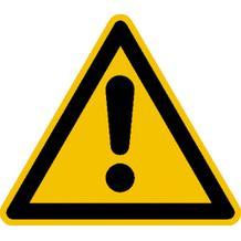 Warnschild - Allgemeines Warnzeichen