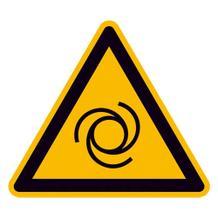 Warnschild - Warnung vor automatischem Anlauf