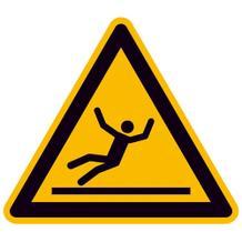 Warnschild - Warnung vor Rutschgefahr