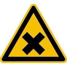 Warnschild - Warnung vor gesundheitsschädlichen oder reizenden Stoffen