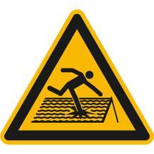 Warnschild - Warnung vor nicht durchtrittsicherem Dach