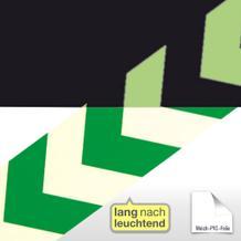 Markierungsstreifen Richtungspfeil, grün/langnachleuchtend