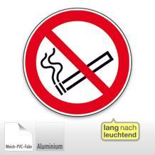 Verbotsschild - Rauchen verboten, langnachleuchtend